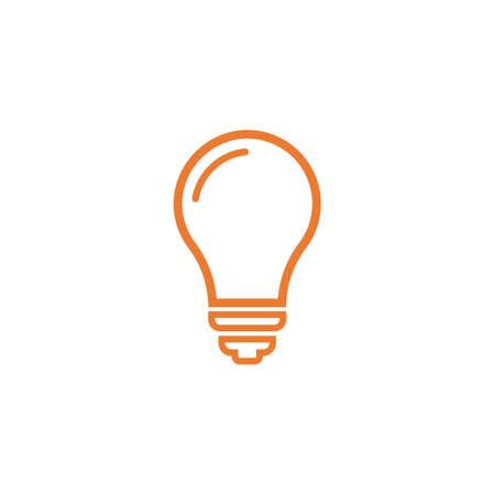 Bulb logo vector ilustration template Stockfoto - 151090689