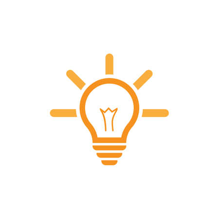Bulb logo vector ilustration template Stockfoto - 151090691