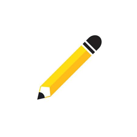 Pencil logo icon vector template design Illustration