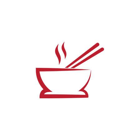 bowl food vector icon design illustration