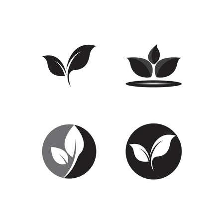 leaf logo ecology nature element vector icon Logo