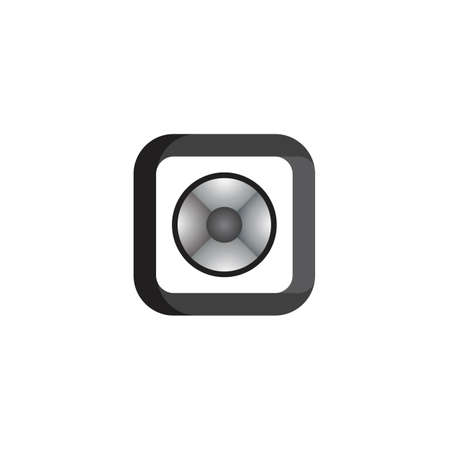 Camera icon vector template illustration design