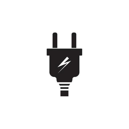 piug in electric vector icon illustration design Векторная Иллюстрация