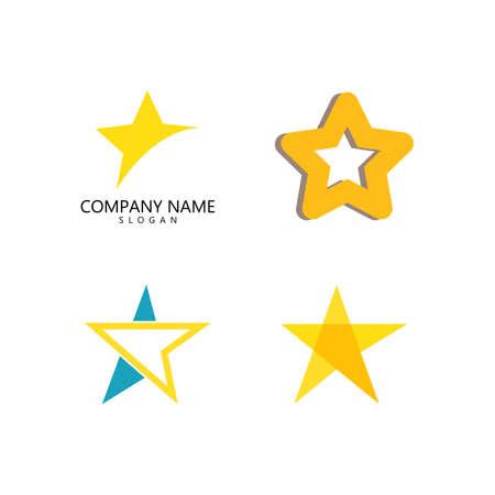 Star Logo Template vector icon illustration design 向量圖像