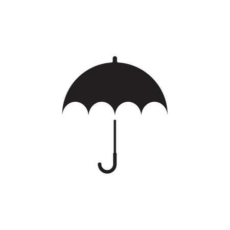 umbrella logo vector template icon design