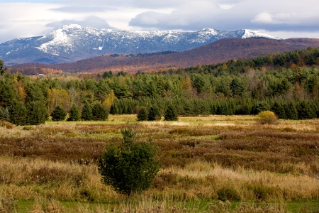 Mount Mansfield in the Late Fall photo