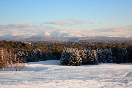 Green Mountain Sunset photo