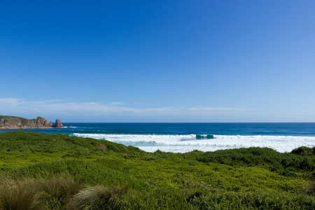 Cape Woolamai beach, philip island, victoria, australia Stock Photo