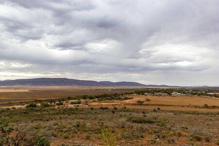 Outback road to Port Augusta, South Australia, Flinders Range Park