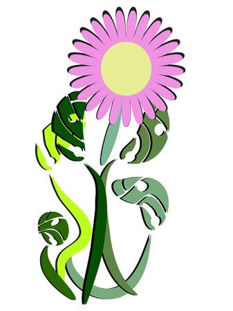 Surreal Flower Stock Vector - 2595695