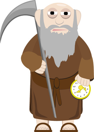 Father Time  Stock Vector - 3961534