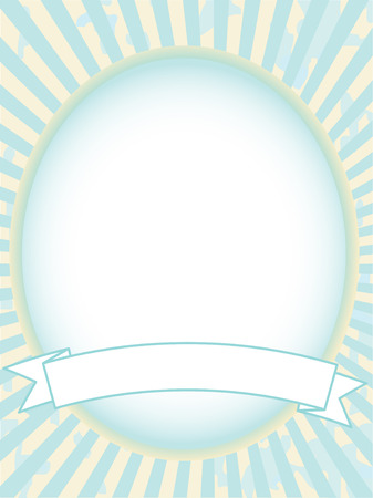 shinning: Blank Blue Product label illustration