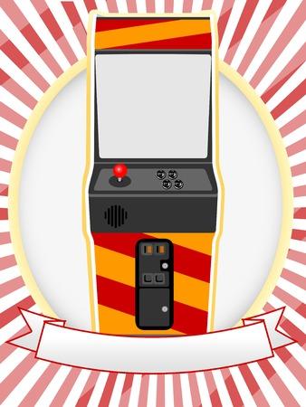 joypad: V�deo configuraci�n de Ad Oval Arcade Cabinet