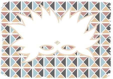 mardi gras mask: White Silhouette Feathered Mardi Gras Mask Grunge Edges