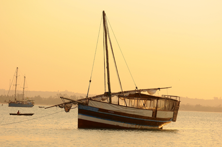dhows of tanzania photo
