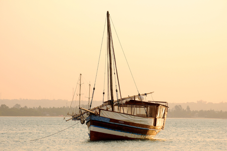 dhows of tanzania Stock Photo - 26414695