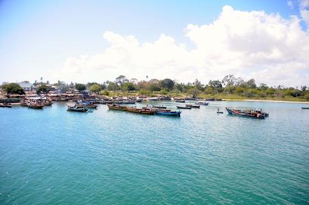mwanza: local fishermen s dhow of Tanzania