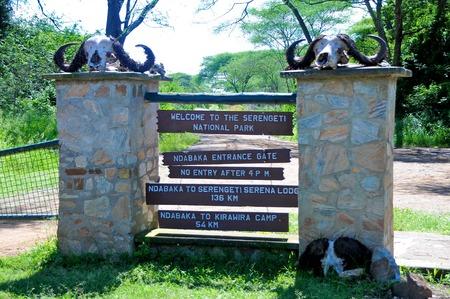 Landscape of Tanzania Stock Photo
