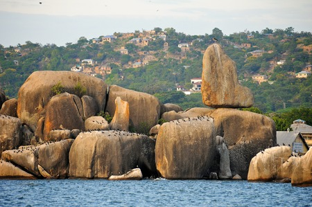 mwanza: Landscape of Tanzania Stock Photo