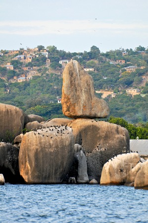 mwanza: Landscape of Tanzania Stock Photo
