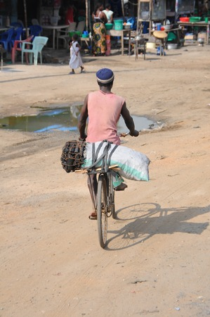 Local transport in Tanzania photo