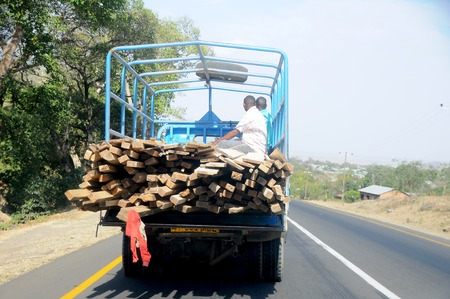 local transport of Tanzania photo