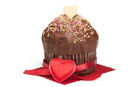 Valentine muffin