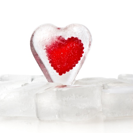 Frozen heart photo