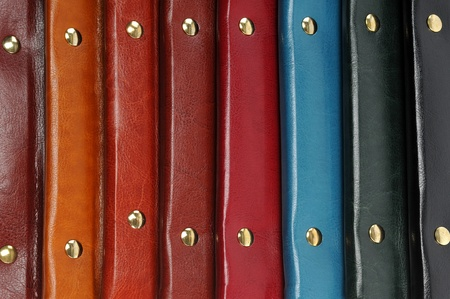 Colorful leather covers