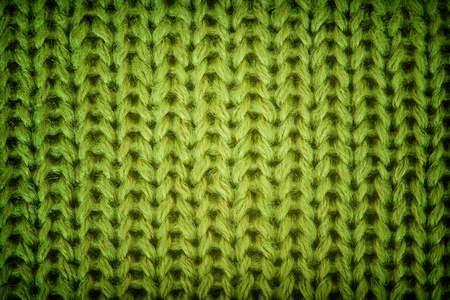 cable stitch: Knitted wool background Stock Photo
