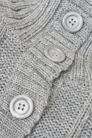 plain stitch: Knitted sweater closeup Stock Photo