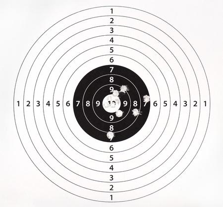Lövés tábla