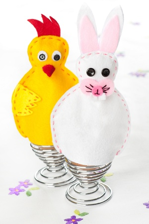 Felt handmade Easter egg warmers