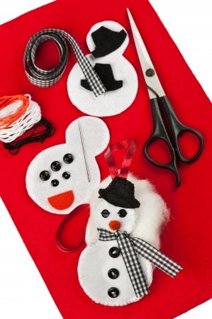 DIY karácsonyi úgy érezte, dekoráció