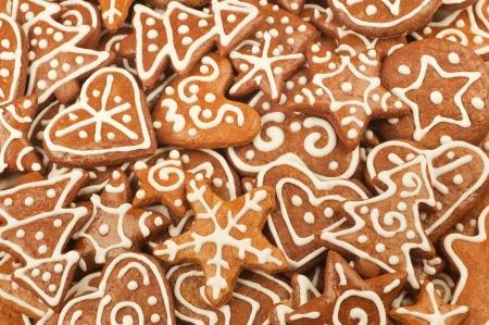 Homebaked Christmas Gingerbread Cookies