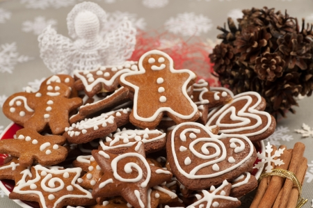 Homebaked Christmas Gingerbread Cookies photo