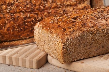 Homebaked Healthy Wholegrain Bread