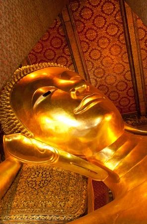 Reclining Buddha at Wat Pho.