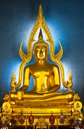 The Most Famous Buddha Image In Thailand, Bangkok  Stock Photo - 10207990