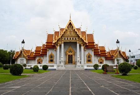 Wat Benchamabophit, Bangkok, Thailand  Editorial