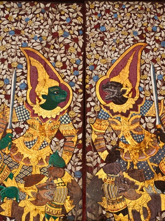 Traditional Thai artpaintings