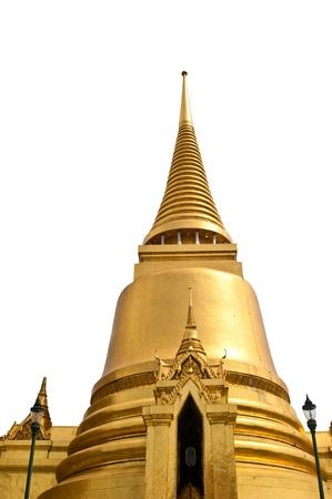 Golden Pagoda in Bangkok, Thailand Stock Photo