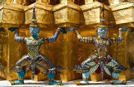 Monkey Warrior in Wat Prakeaw