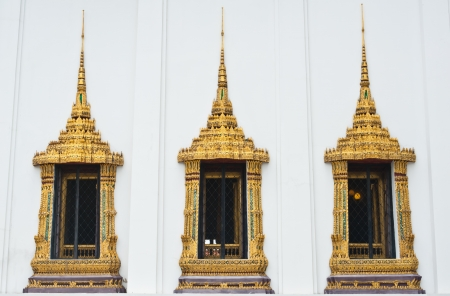 Window Ancient in Palace Thailand