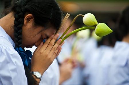 Faith Buddism In Bangkok Thailand