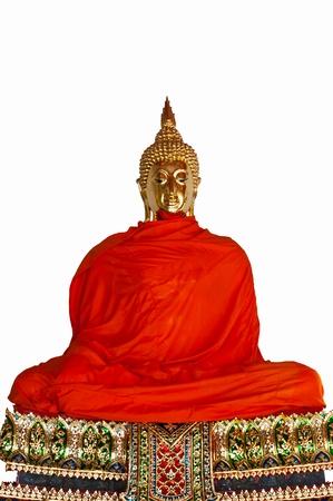Buddha image in Wat pho Bangkok, Thailand