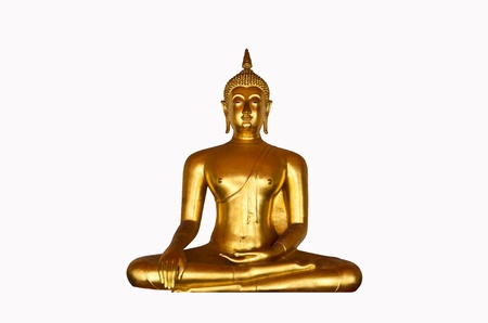 Culorful Buddha in Thailand Stock Photo