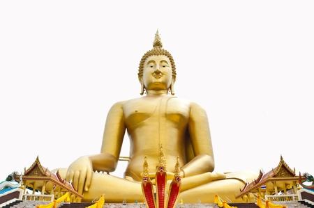 Big Buddha image Stock Photo