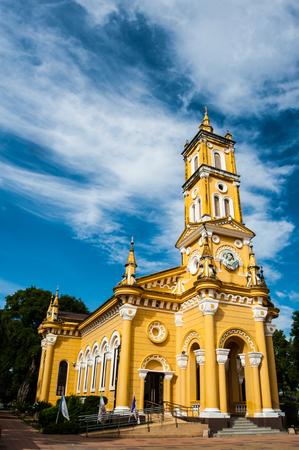 Saint Joseph catholic in Ayuthaya Thailand Stock Photo