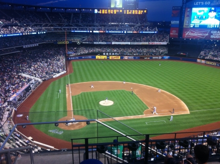 beisbol: Juego de b�isbol Foto de archivo